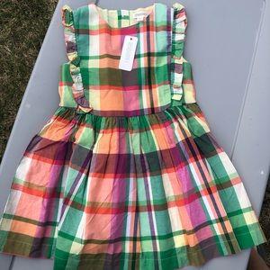 Gymboree plaid dress NWT